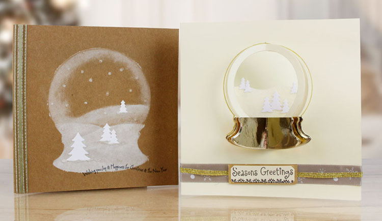 Essentials by Tattered Lace - Nested Snow Globe