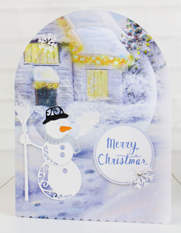 Essentials by Tattered Lace - Festive Snowman