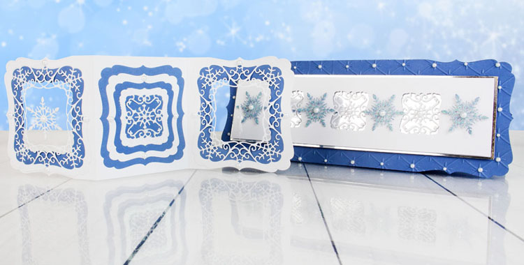 Essentials by Tattered Lace - Snowflakes Craft a Card Collection