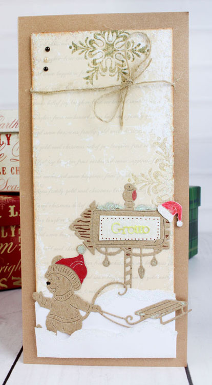 Essentials by Tattered Lace - Festive Sign Post