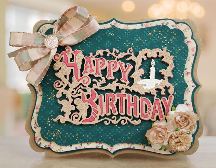 Essentials by Tattered Lace - Vintage Happy Birthday