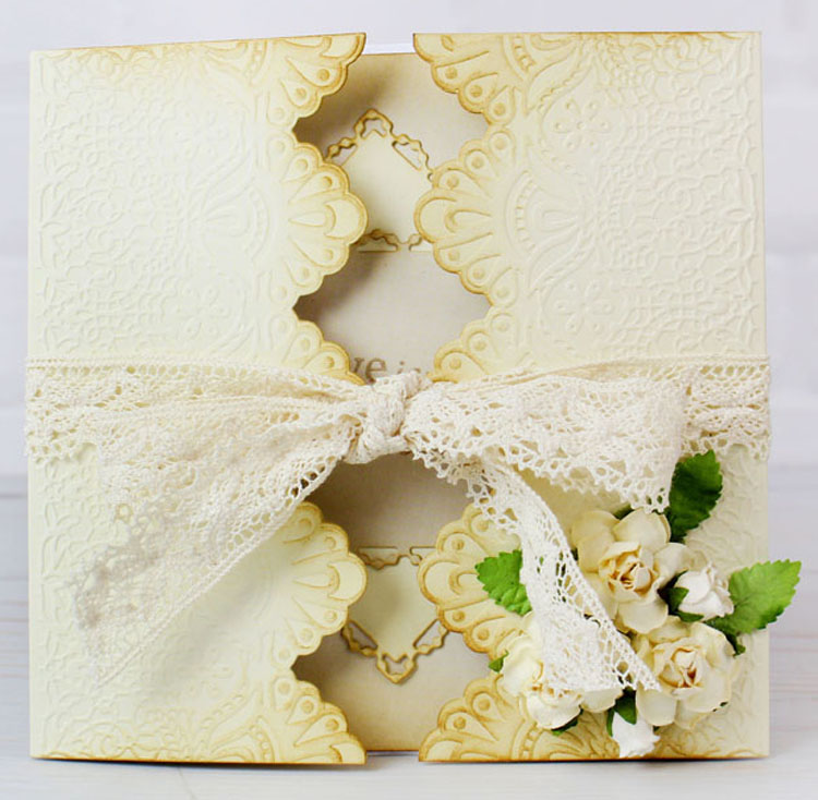 Essentials by Tattered Lace - Gatefold Edger Dies 2