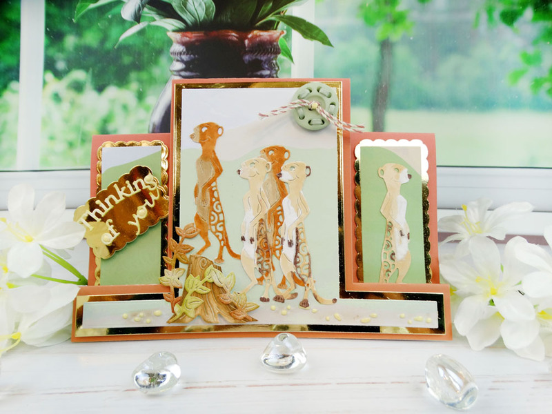 Shaped Cards by Tattered Lace - Centre Stepper Card