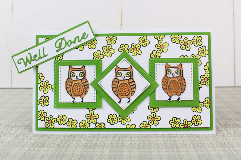 Trio by Tattered Lace - Woodland Glade