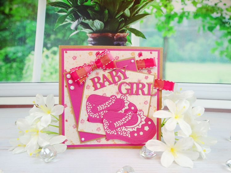 Tattered Lace Die - Baby Girl Shoe