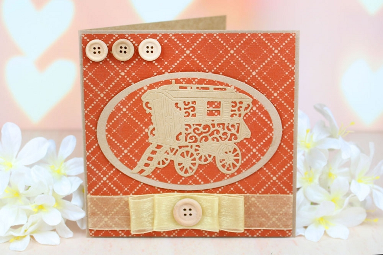 Tattered Lace Die - Vintage Caravan