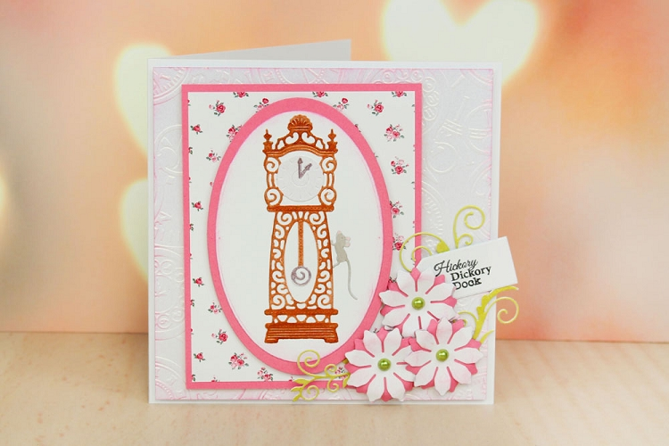 Tattered Lace Dies - Hickory Dickory Dock