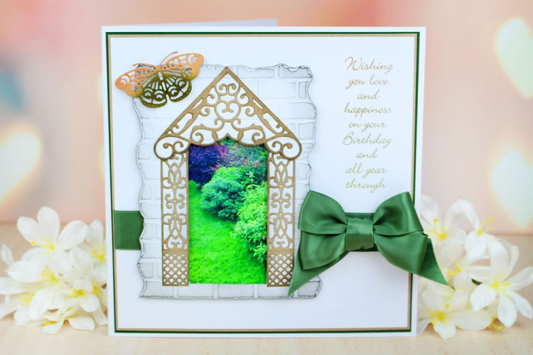 Tattered Lace Dies - Build an Archway