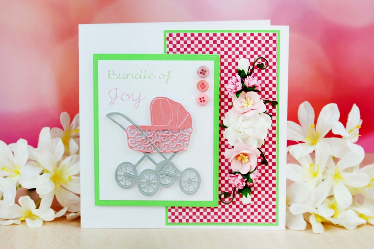 Tattered Lace Die - Vintage Pram