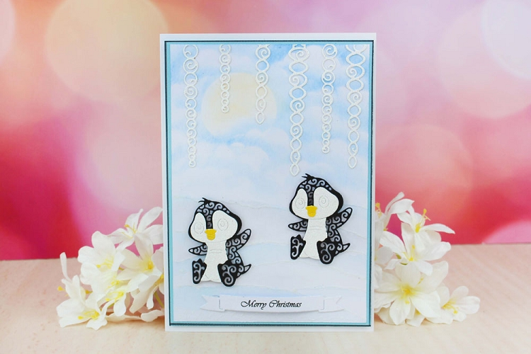 Tattered Lace Die - Baby Penguin