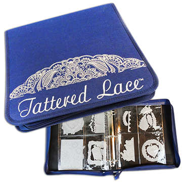 Tattered Lace Die Storage Solution Binder