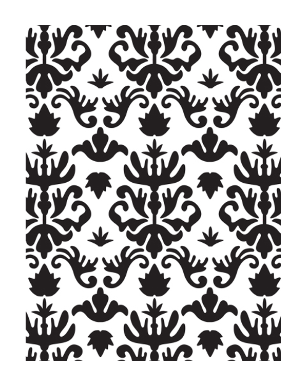 Embossing Folder - Royalty - Bella Collection