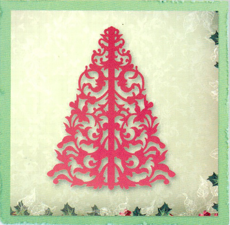 Ultimate Crafts Dies - Silent Night Collection - Trim The Tree