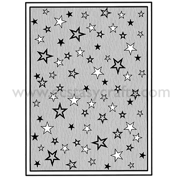 Creative Expressions Ce Foam Stamps - Shooting Stars