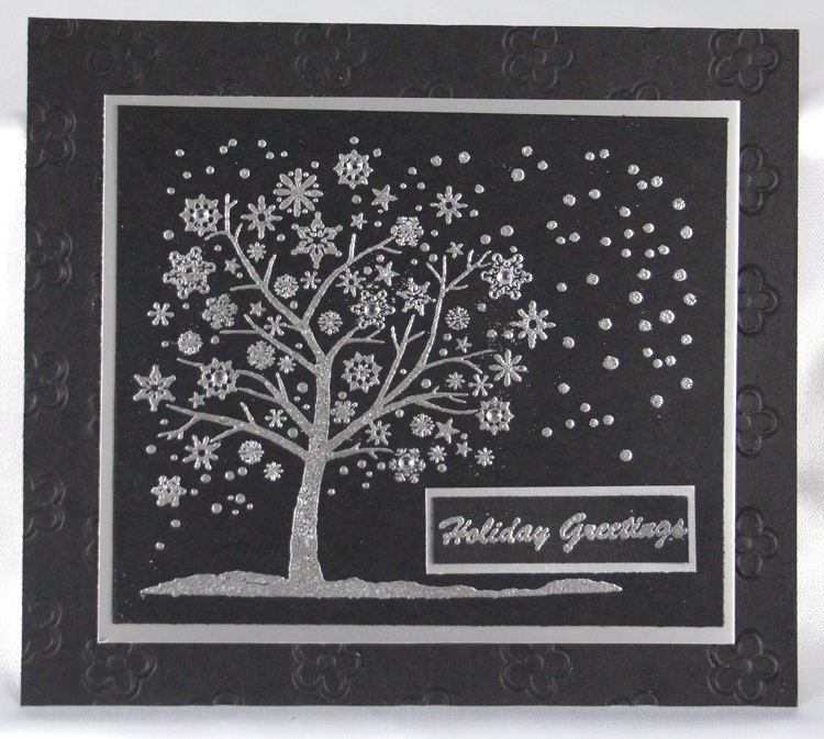 Ecstasy Crafts Frog's Whiskers Stamps - Snowflake Tree