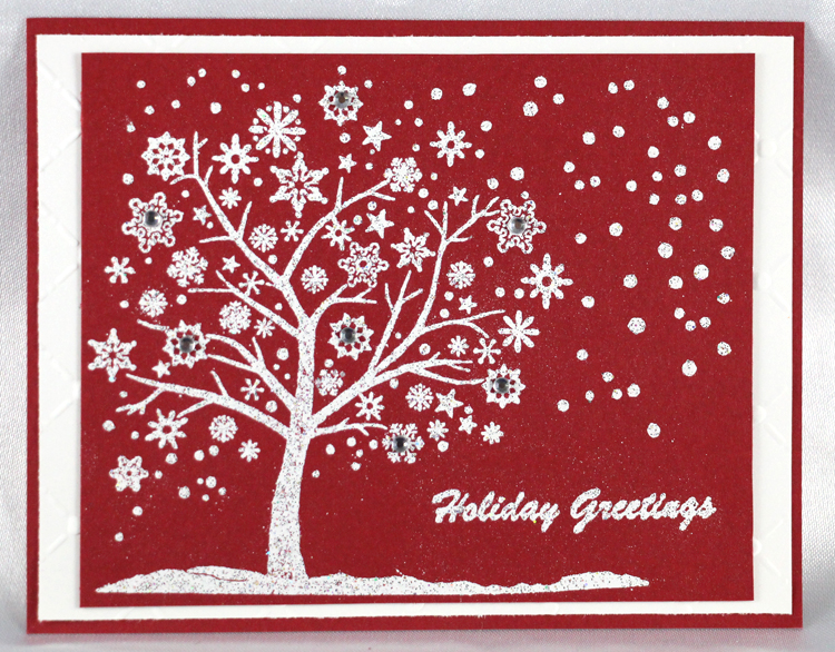 Frog's Whiskers Ink Frog's Whiskers Stamps - Snowflake Tree
