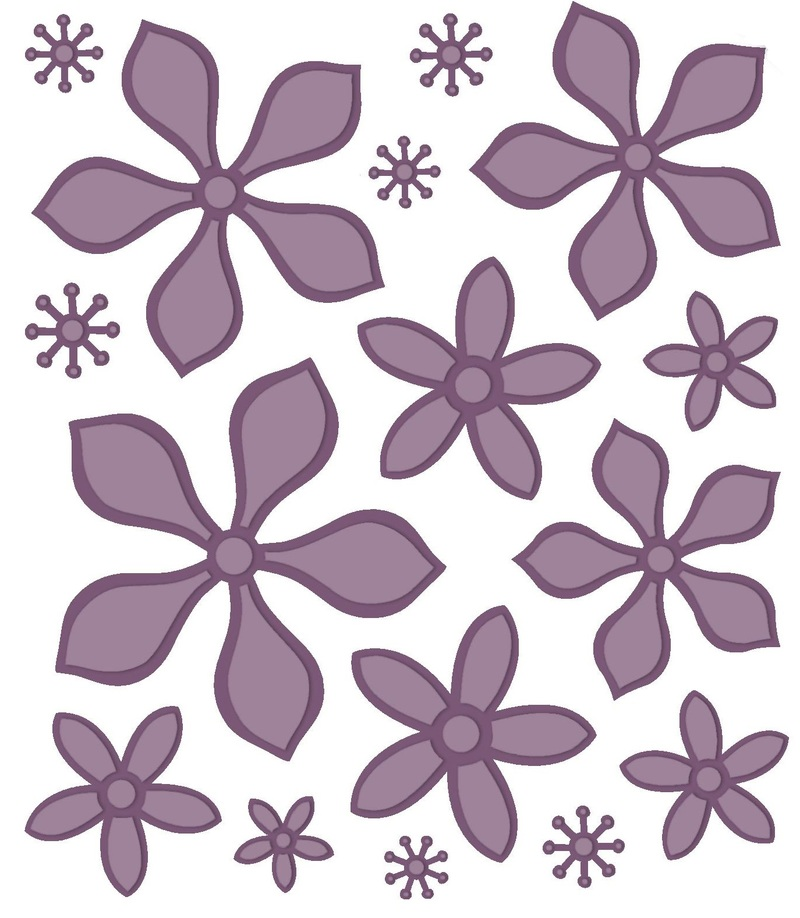 Creative Expressions Finishing Touches Collection Orange Blossom-complete Petals Die