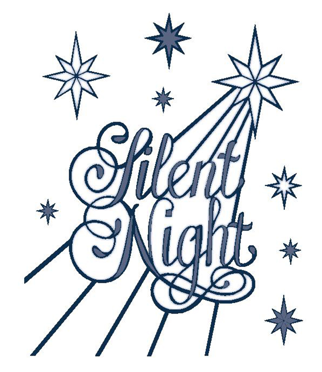 Creative Expressions Sue Wilson Dies - Festive Collection - Silent Night
