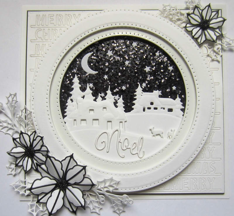 Creative Expressions Festive Collection Triple Merry Christmas