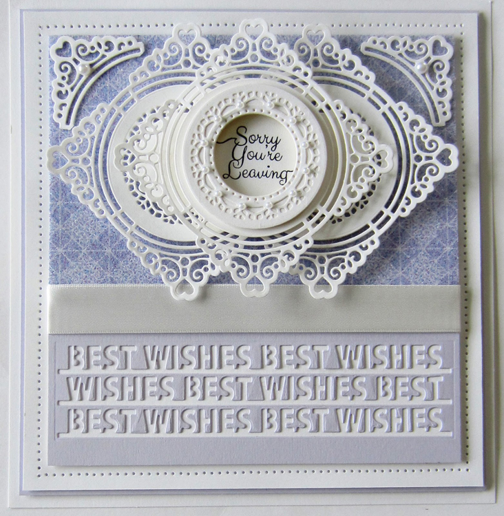 Creative Expressions Sue Wilson Dies - Perspectives Collection - Triple Best Wishes