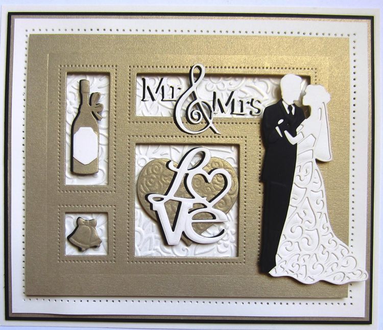 Creative Expressions Shadow Boxes Collection Mr And Mrs