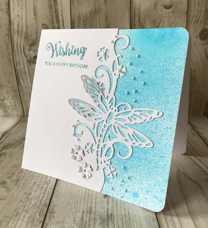 Craft Die Creative Expressions Paper Cuts Collection Best Wishes Edger