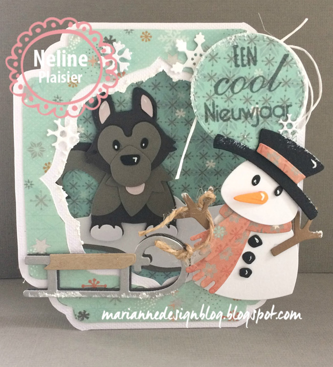 Marianne Design : Collectables Die Set - Eline's Husky