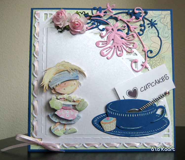 Marianne Design: Craftables Dies - Tea Cup With Spoon