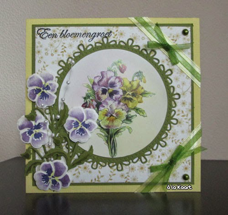 Marianne Design : Craftables Dies - Tiny's Pansy