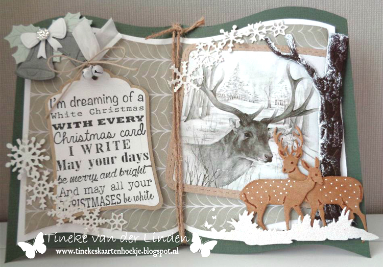 Marianne Design : Craftables Dies - Tiny's Trees Oak