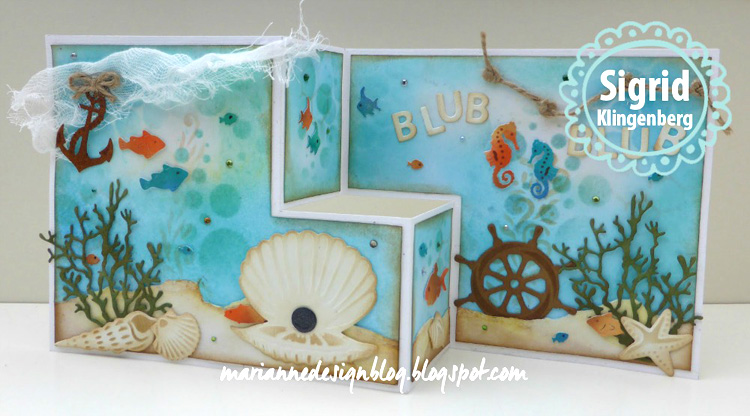 Marianne Design: Craftables Scallop Die Set