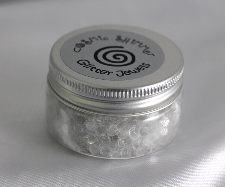 Cosmic Shimmer Glitter Jewels-Iced Flakes-25ml