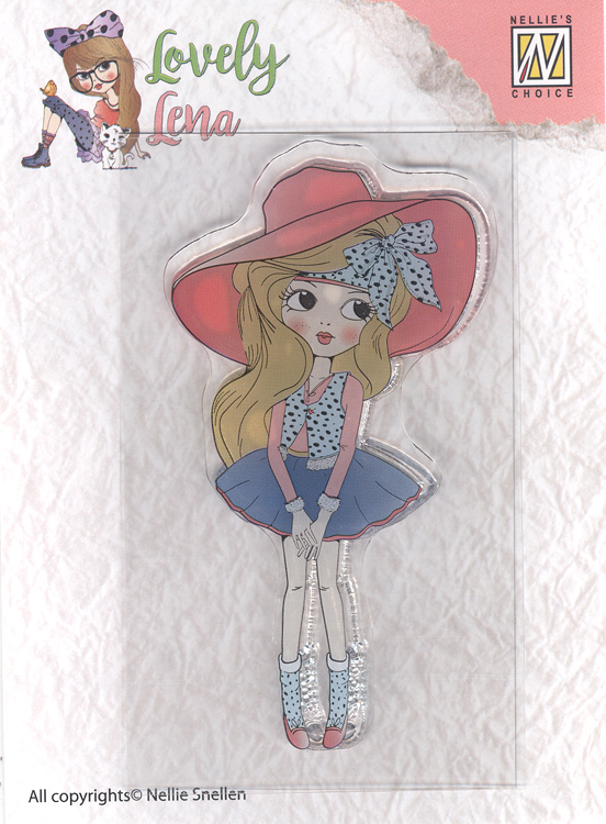 Clear Stamp Lovely Lena - Pretty Lena