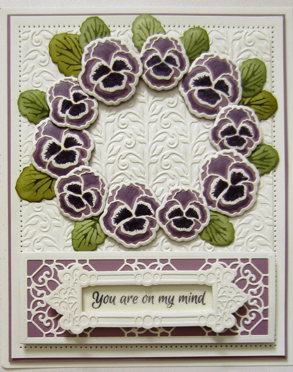 Creative Expressions Embossing folder A4 size - Climbing Vines