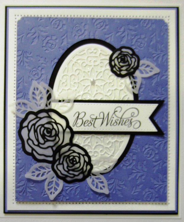 Embossing Folder - A4 - Wild Roses
