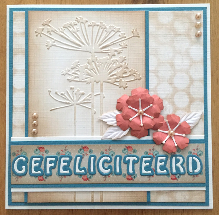 Nellie's Choice Embossing Folder - Queens Ann Lace