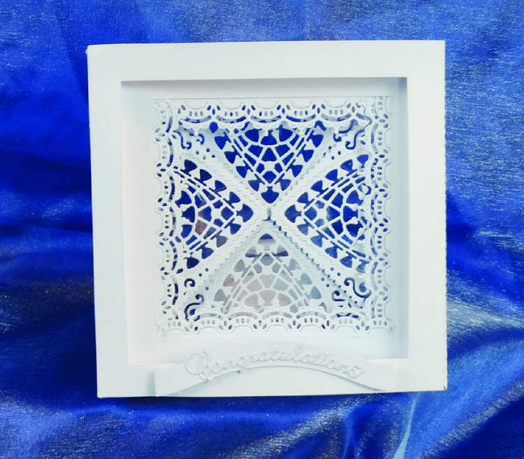 Tattered Lace Die - Essentials Nesting Squares