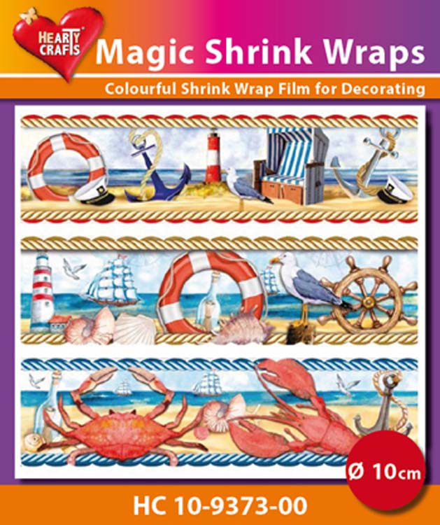 Ecstasy Crafts Hearty Crafts Magic Shrink Wraps Maritime (10Cm)