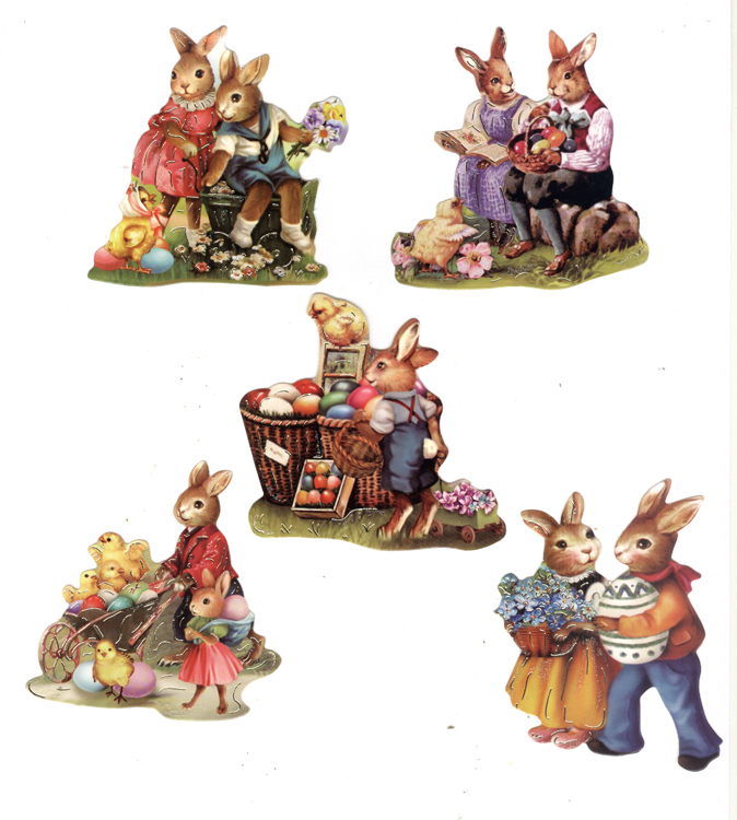 Easy 3D Toppers: Easter Vintage (2)