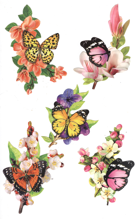 Easy 3D Toppers: Butterflies on Flowers
