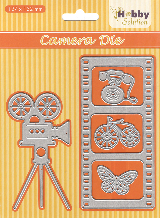 Ecstasy Crafts Nellie's Choice - Hobby Solution Die Camera / Filmstrip