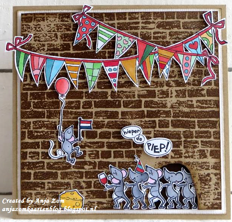 Marianne Design -Hetty's border - garland