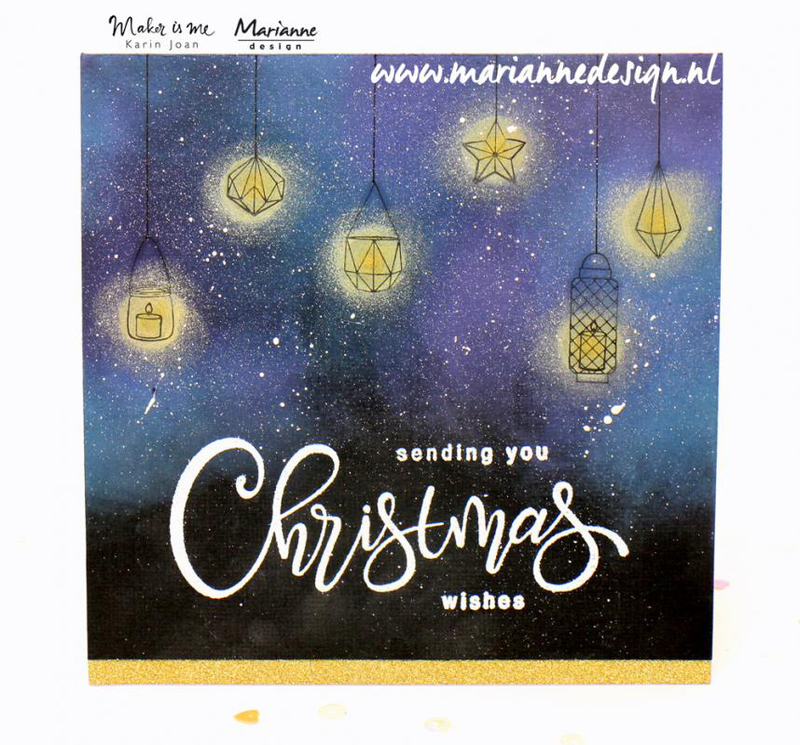 Marianne Design Stamps Christmas Song