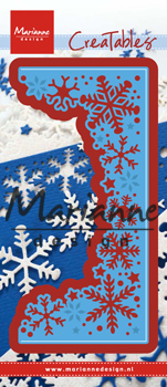 Ecstasy Crafts Marianne Design Creatables Snowflakes Border