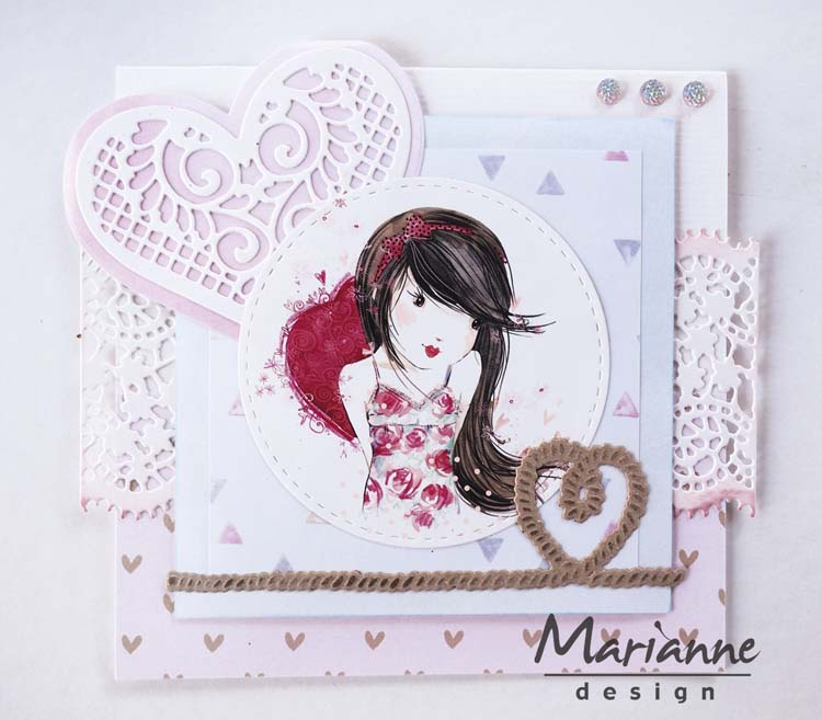 Marianne Design Creatables Rope With Heart