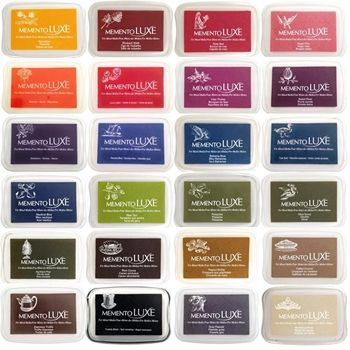 Memento Luxe Ink Pad Sweet Plum Ink Pads Online Artist Supply