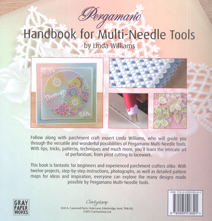 Handbook For Multi Needle Tools Vol 1 By Linda Williams