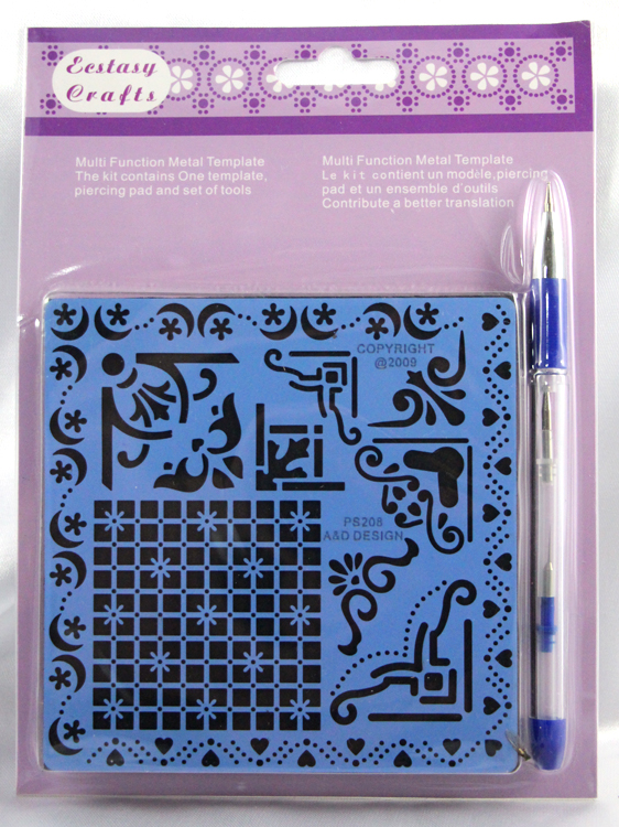 Parchment Craft Perforating & Embossing Kit - Embossing Corners & Borders