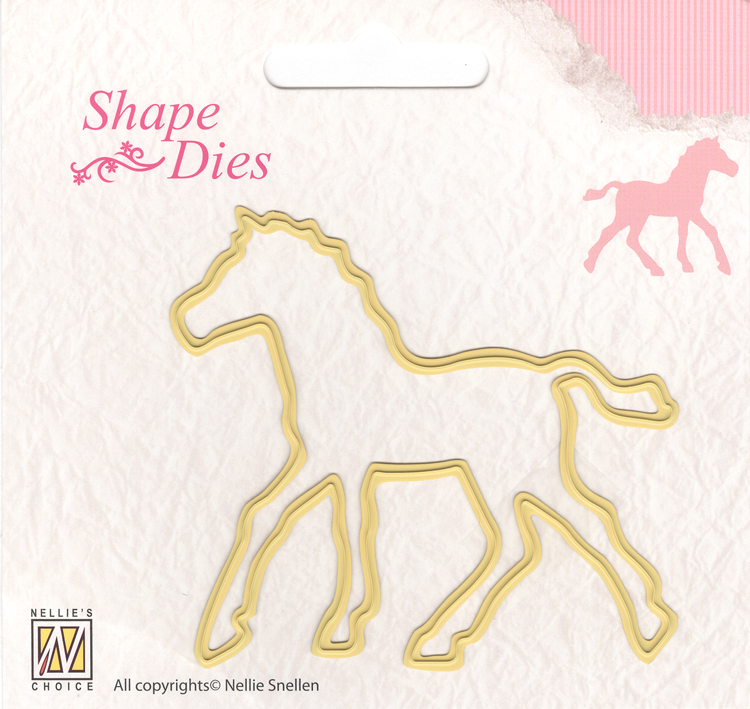 Nellie's Choice Shape Die - Horse