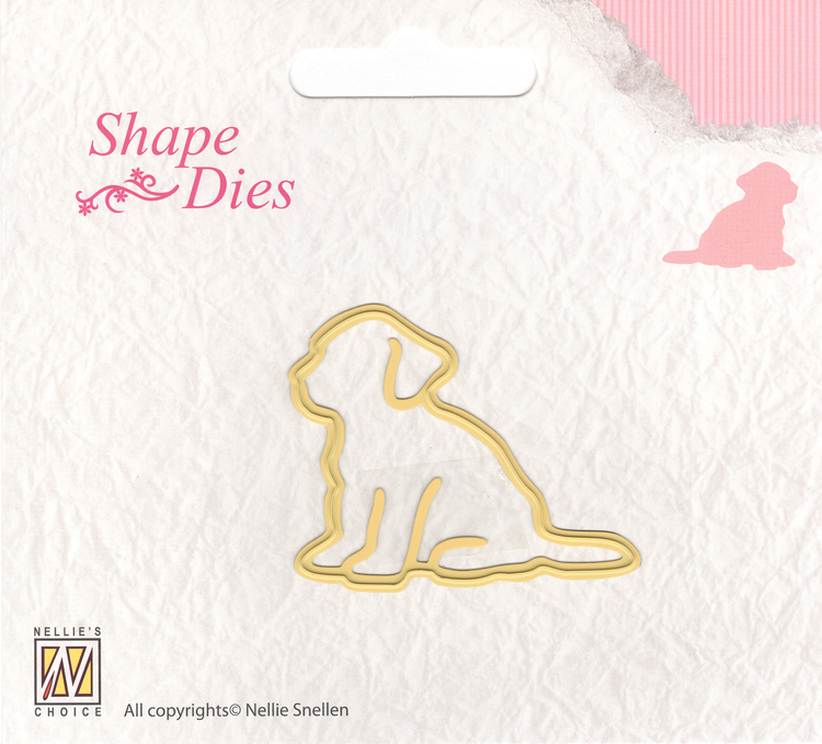 Nellie's Choice Shape Die - Dog